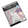 Kép 2/6 - Színezőkönyv ezüstfóliás kontúrokkal