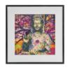 Kép 2/6 - Ülő Buddha 30x30 cm