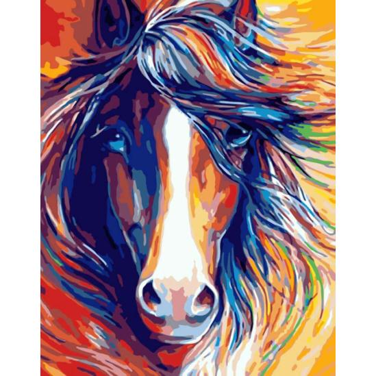 Lófej - számfestő készlet