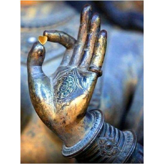 Buddha kezében - gyémántszemes kirakó