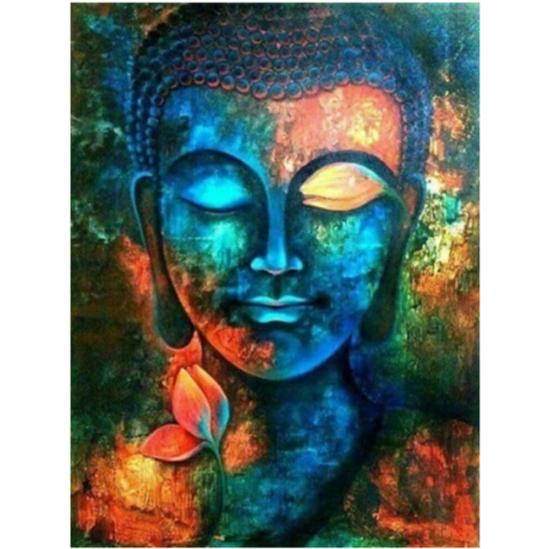 Buddha mosolya - gyémántszemes kirakó