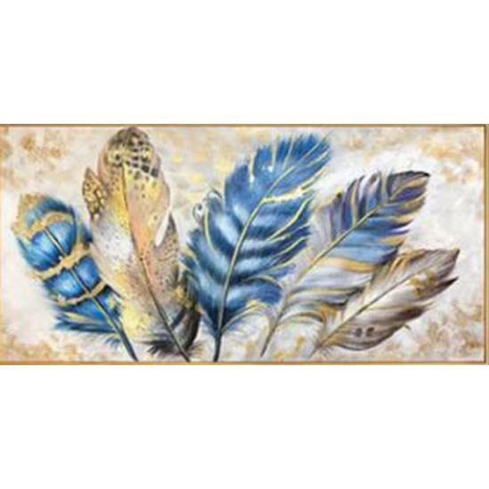 Színes tollak - gyémántszemes kirakó