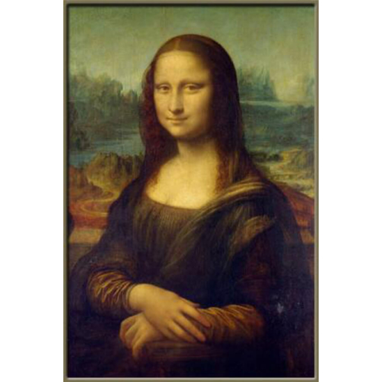 Mona Lisa - gyémántszemes kirakó