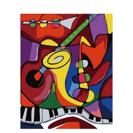 Jazz - számfestő készlet