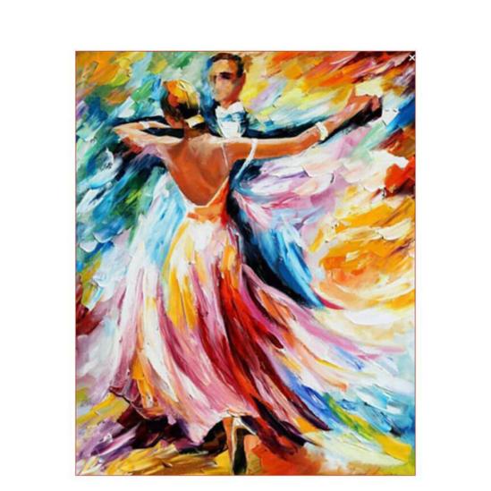 Táncoló pár - számfestő készlet