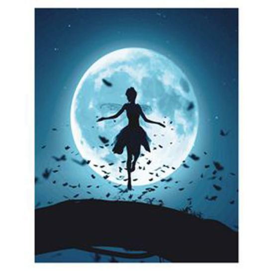 Holdfénytánc - számfestő készlet