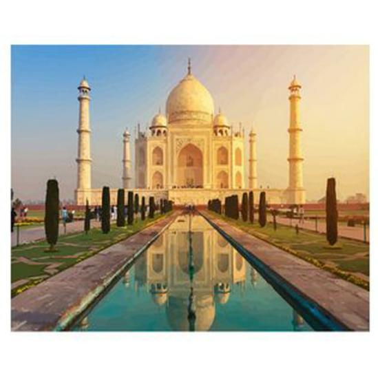 Taj Mahal - számfestő készlet