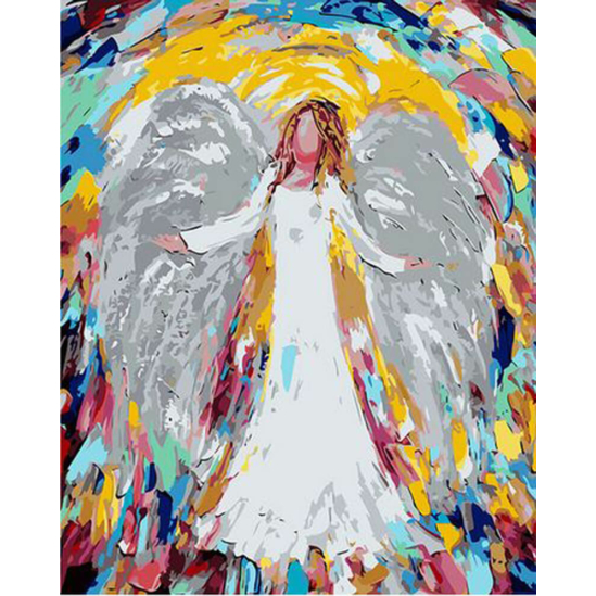 Angyali áldás - számfestő készlet