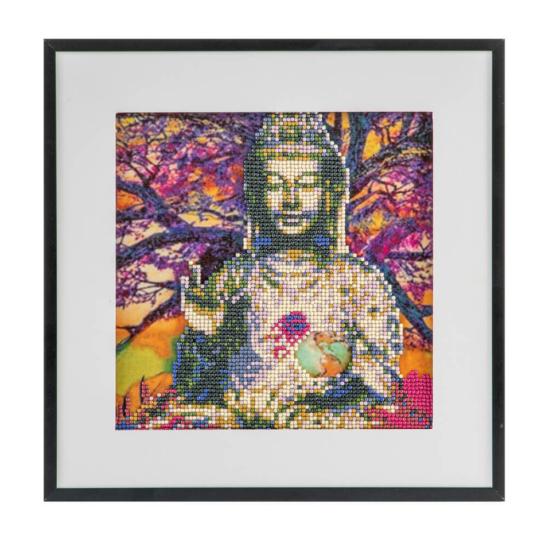 Ülő Buddha 30x30 cm