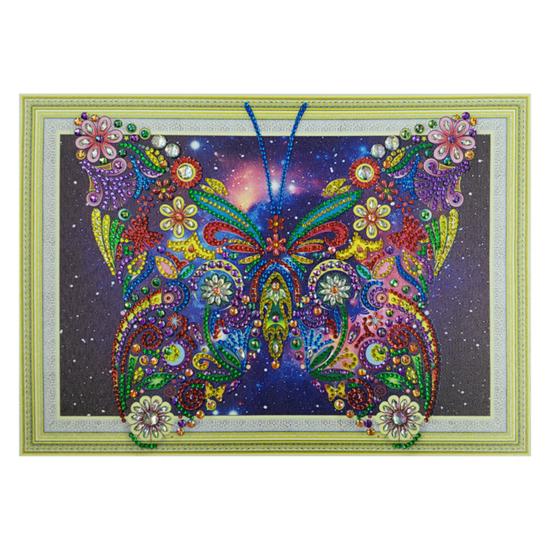 Pillangó - gyémántszemes kirakó