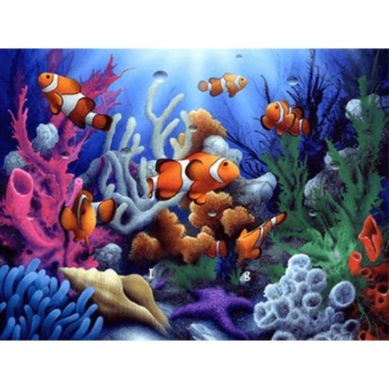 Bohóchalak - gyémántszemes kirakó