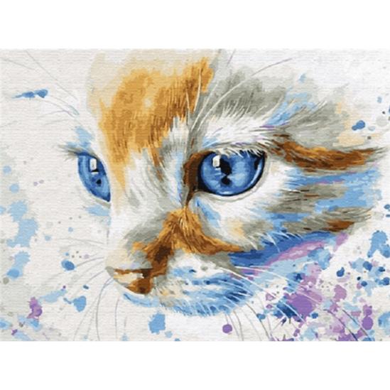 Macskaálom - gyémántszemes kirakó