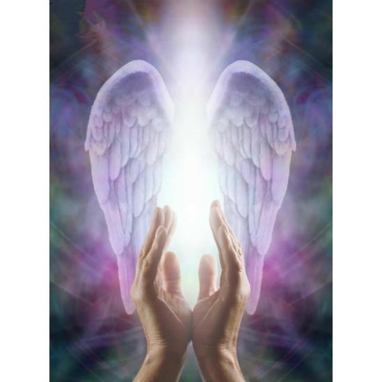 Angyali fény - gyémántszemes kirakó