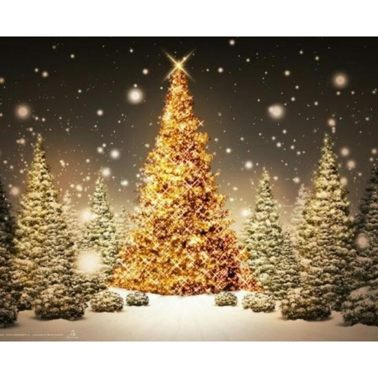 Karácsonyi hangulat 2 - gyémántszemes kirakó