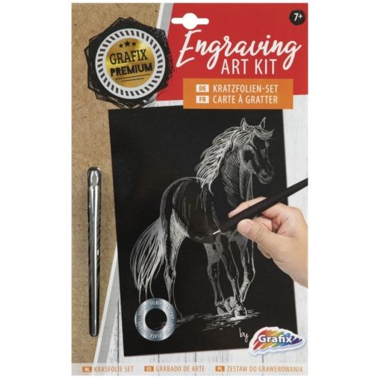 Karckép - Ezüst ló